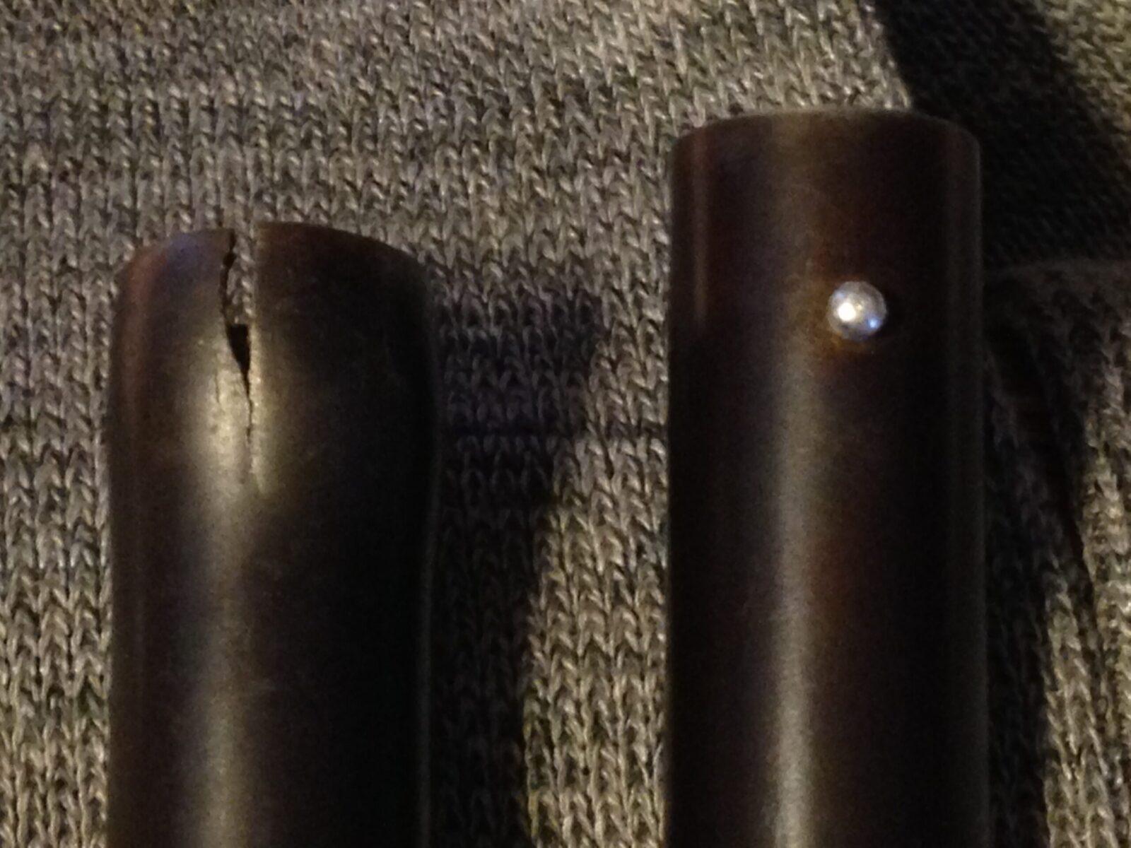 Shotgun split barrel repair